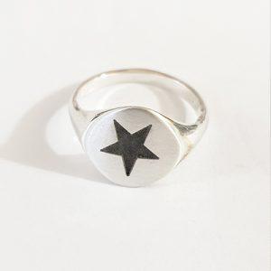 טבעת חותם כוכב