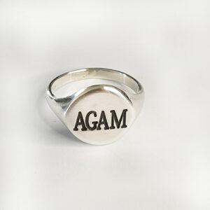 טבעת חותם-שם