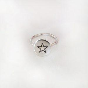 טבעת עיגול כוכב