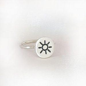 טבעת עיגול שמש