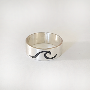 טבעת פס גל