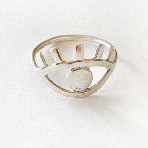 טבעת עין חתוכה