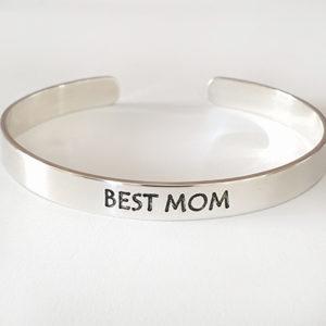 צמיד קשיח BEST MOM