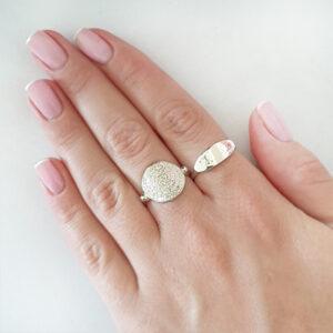 טבעת מטבע רקועה
