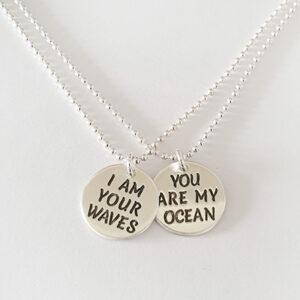 שרשראות I am your waves You…