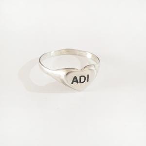 טבעת חותם לב | גולי